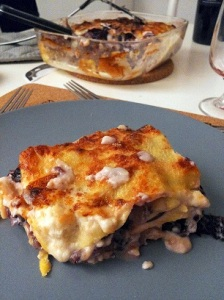 Lasagne radicchio e asiago
